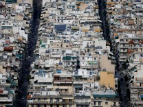 FILE PHOTO: A view of the cityscape of Athens