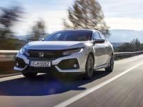 Honda Civic in der Frontansicht