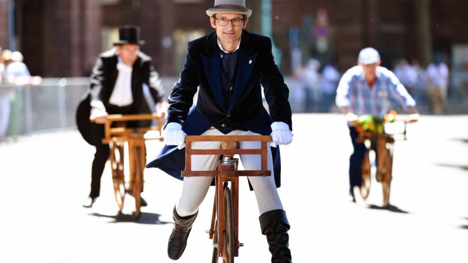 Jubiläumsfeier '200 Jahre Fahrrad' in Mannheim