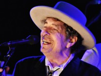 File photo of U.S. musician Bob Dylan performing during on day 2 of The Hop Festival in Paddock Wood