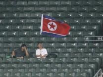 Fußballfan Nordkorea