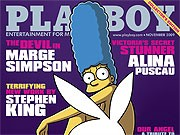Marge Simpson im Playboy; Reuters