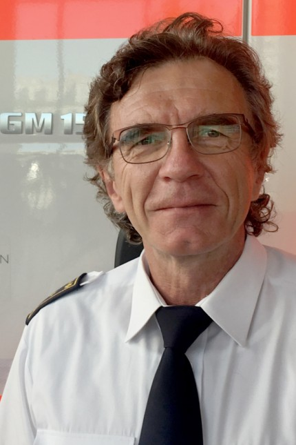 Frankfurts Feuerwehr-Chef Reinhard Ries
