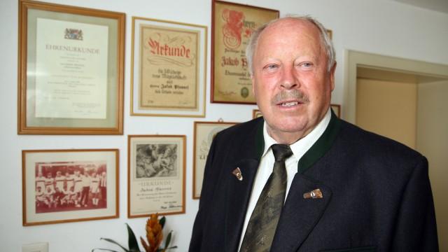 Alling: Jakob Pfannes, SCHÜTZENVEREIN - Seele des Vereins