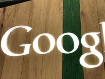 FILE PHOTO: A Google logo is seen in a store in Los Angeles