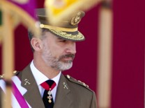 Spanish Royals Attend Armed Forces Day 2017