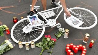 Mahnwache für getöteten Fahrradfahrer