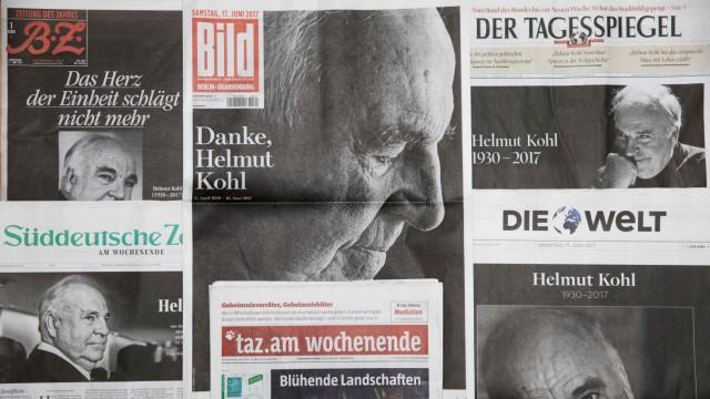 Helmut Kohl Zum Tod von Helmut Kohl