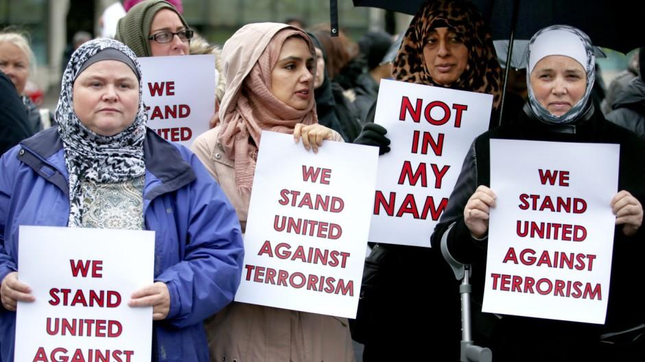 Muslimische Aktion gegen Terrorismus