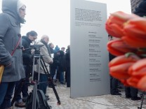 Nuremburg Unveils Memorial To NSU Murder Victims