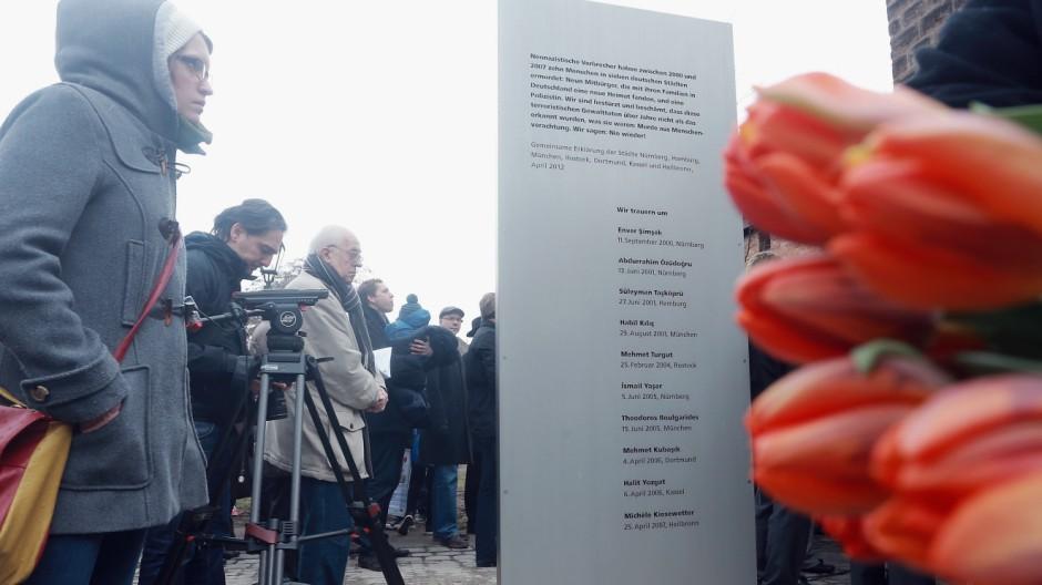 Nuremburg Unveils Memorial To NSU Murder Victims