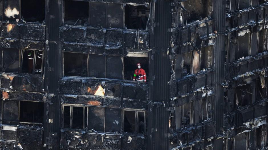 Nach dem Hochhausbrand in London