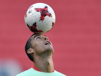 Confederations Cup - Training Portugal
