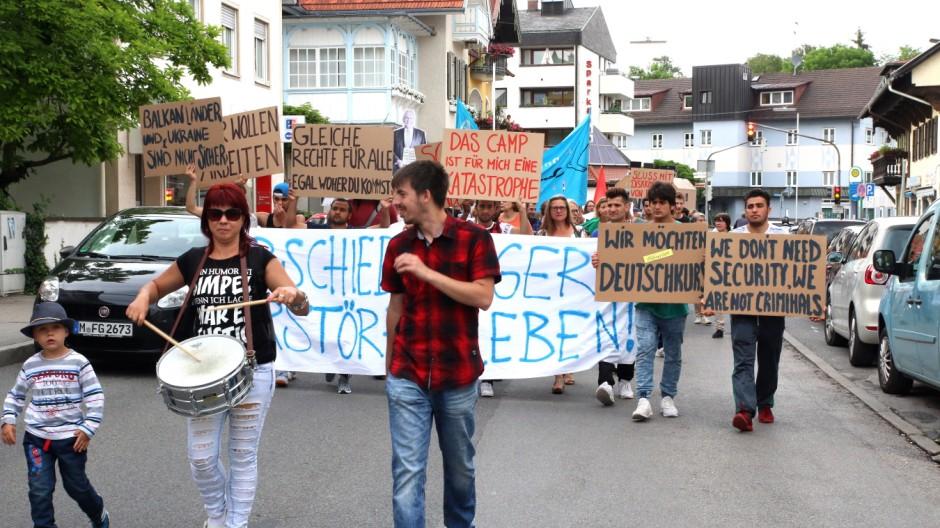 Demo gegen die bayerische Integrationspolitik