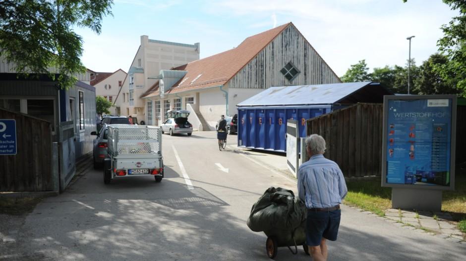 Garching Mülltrennung in Garching