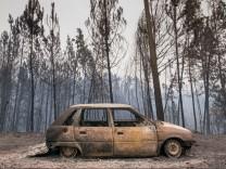 Waldbrände in Portugal