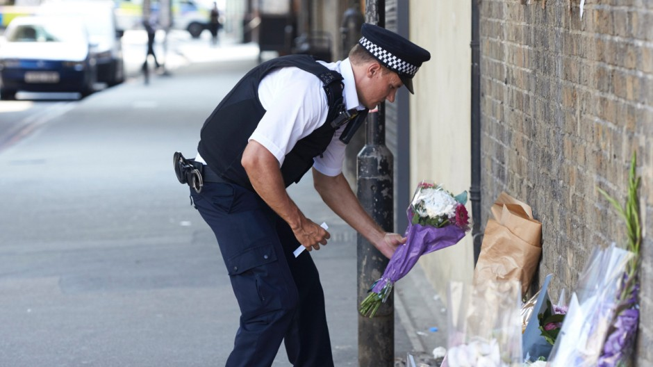 Extremismus Anschlag in London