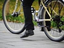 Fahrradkurs für Migrantinenn in München, 2015
