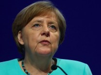 German Chancellor Merkel attends the German Industry Day in Berlin