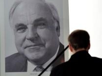 Kondolenzbuch für Helmut Kohl