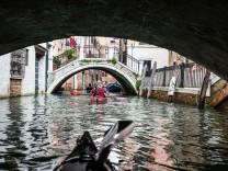 Venedig, Kajak