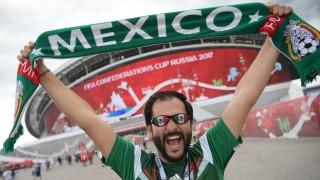 Confed Cup Mexiko beim Confed Cup