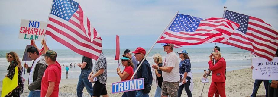 Donald Trump Trump und die Muslime