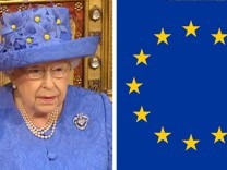 Queen in EU-Look