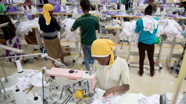 Textilfabrik in Äthiopien