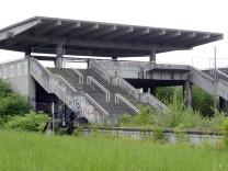 Ehemaliger S-Bahnhof Olympiastadion in München, 2010