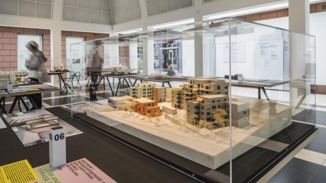 Ausstellungsansicht im DAM (Deutsches Architekturmuseum Frankfurt a.M.)