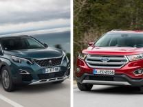 Peugeot 5008 und Ford Edge