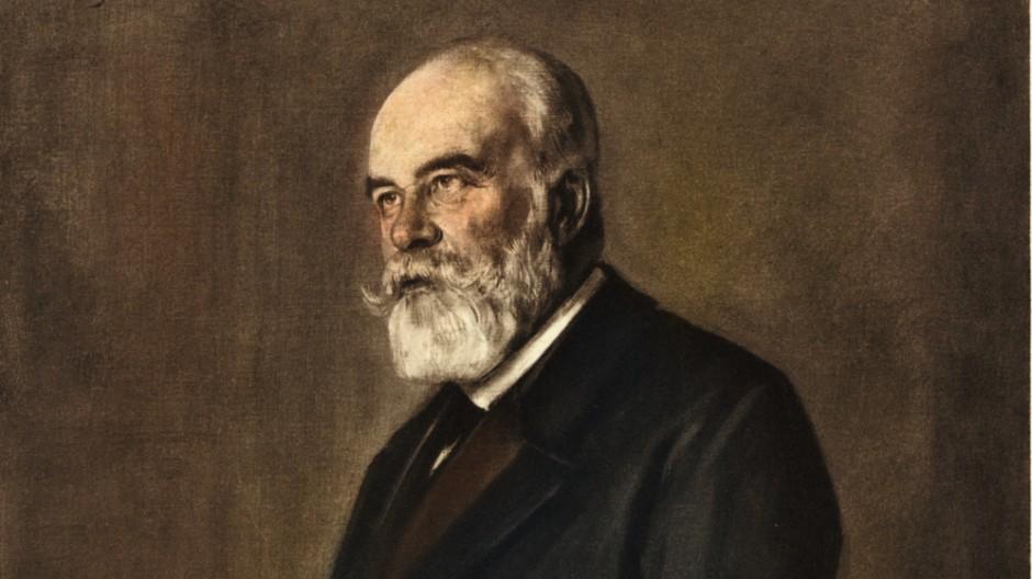 Gustav Schmoller, 1901