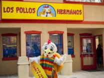 Better Call Saul branding event in New York A pop up of the renowned Los Polos Hermanos chicken fas