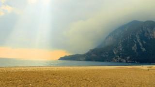 06 10 2016 Cirali Strand Mittelmeer t¸rkische Riviera T¸rkei Provinz Antalya leere StrâÄ°nde leerer St