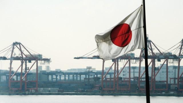 Tokio Hafenansicht