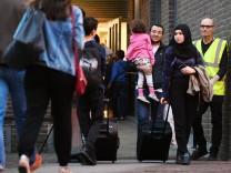 Evakuierung von Hochhäusern in London