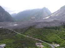Bergrutsch in China