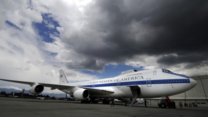 Doomsday Boeing 747 E-4B