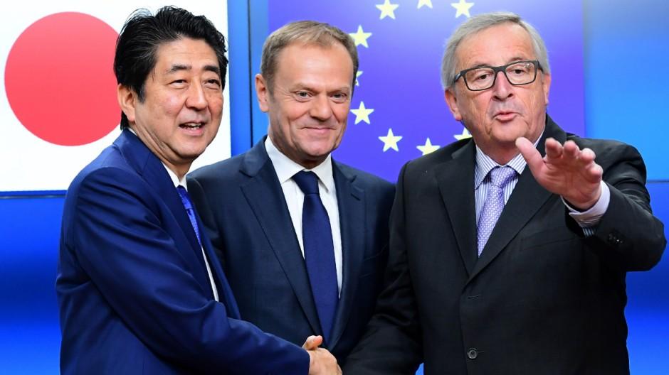 Freihandel Handelspakt zwischen der EU und Japan