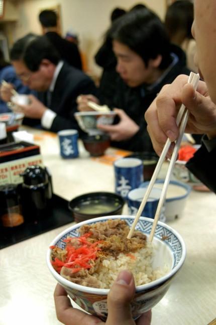 Japanisches Rindfleisch-Restaurant in Tokio