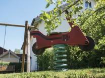 Unterhaching, Minispielplätze als Folge der Nachverdichtung,