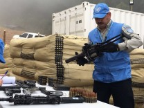 Entwaffnung der kolumbianischen Farc-Rebellen