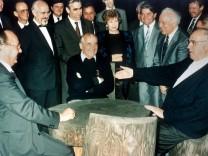 Westen Russland Genscher Gorbatschow Kohl