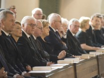 CDU And CSU Hold Helmut Kohl Memorial Service