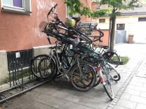 Haufenweise Fahrräder