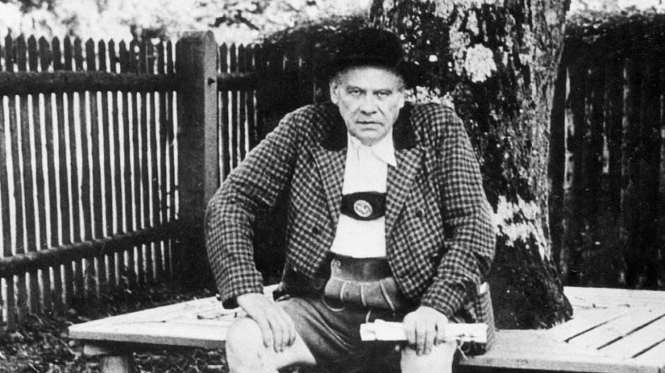 Oskar Maria Graf 50. Todestag