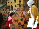 Brueghel-Bildmit Personen im Vg_AK