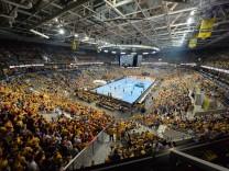 dbk Handball Bundesliga 20 11 2017 Rhein Neckar Löwen vs MT Melsungen SAP Arena Innenraum ksp