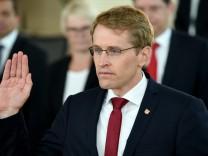 Ministerpräsident Günther vereidigt